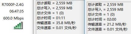 usb3.0 2.4G speed